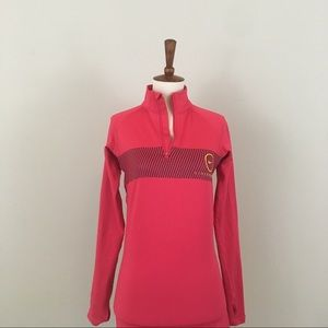 NIKE Pullover Livestrong Red Small